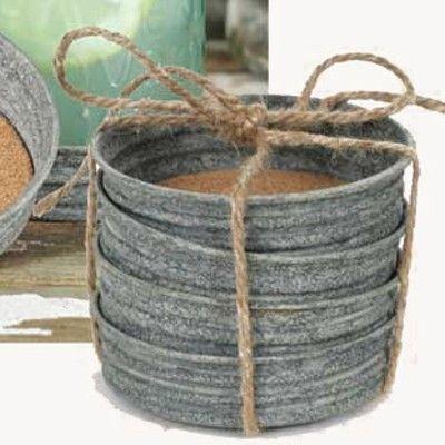 Mason Jar Lid Coaster | Mason Jar Lids | Mason Jars