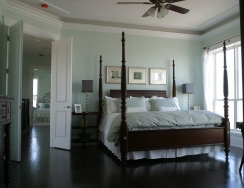Traditional Bedroom Master Bedroom Love The Dark Wood Floors With The White Molding Dream