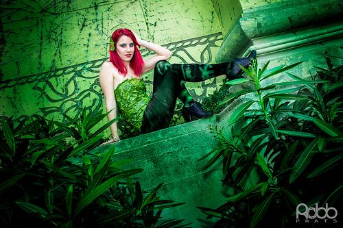 Poison Ivy (Hiedra Venenosa) -2014- by Sandra Muñoz