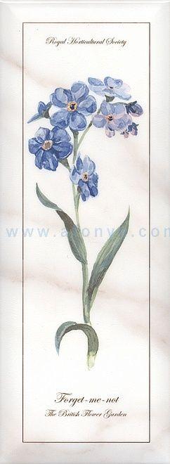 Декор KERAMA MARAZZI Ноттингем (150х400) цветы NT\A83\15005 (шт.)