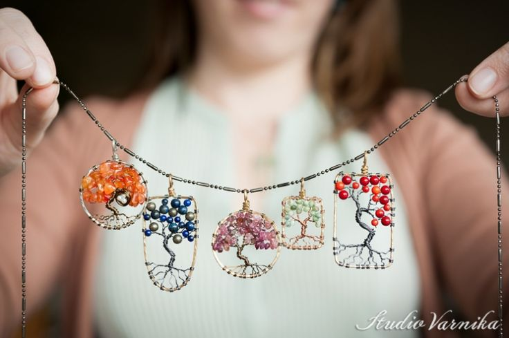Laura TK: Tree of Life Pendants & Vegan Feather Earrings | Studio Varnika, Portland OR Photographer - pretty