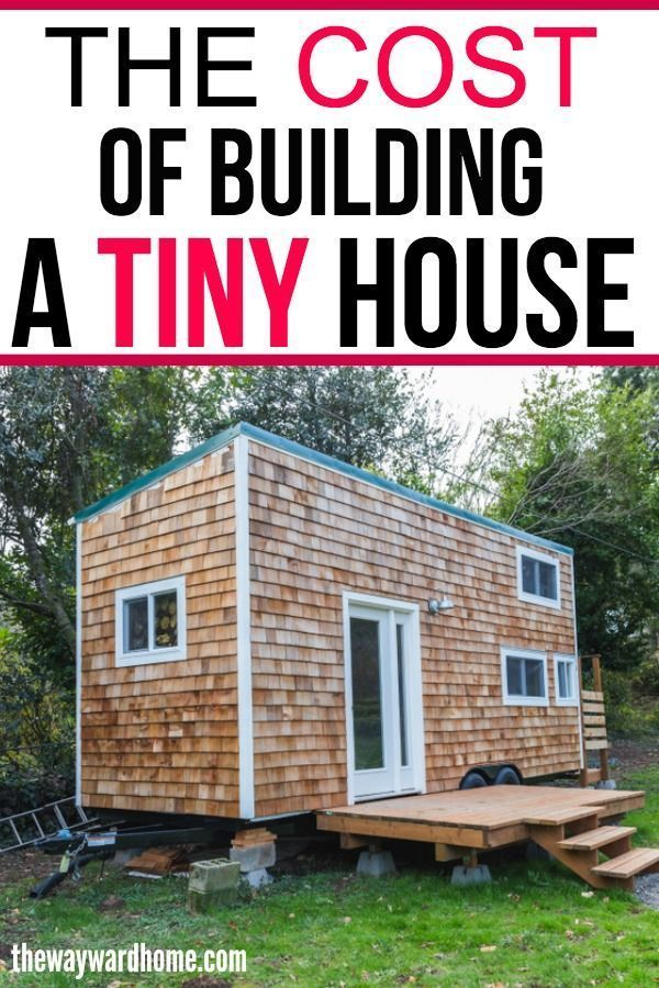 How Much Does A Tiny House Cost Tiny Home Cost Building