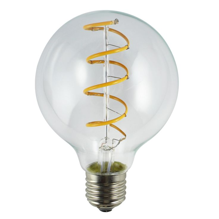 Spiral led filament bulbis a modern light bulb that brings back the nostalgia of the early incandescent lamps of the Gilded Age. Best for decorative hanging lamps and fixtures where the bulb can be seen to advantage, this bulb adds an old time charm to any room coupled with unparalleled energy efficiency and safety (no harmful substances like mercury). With the newsoft filament LED it is now possible to bend the filament in one continuous lengthto mimic the spiral design.We can make it…