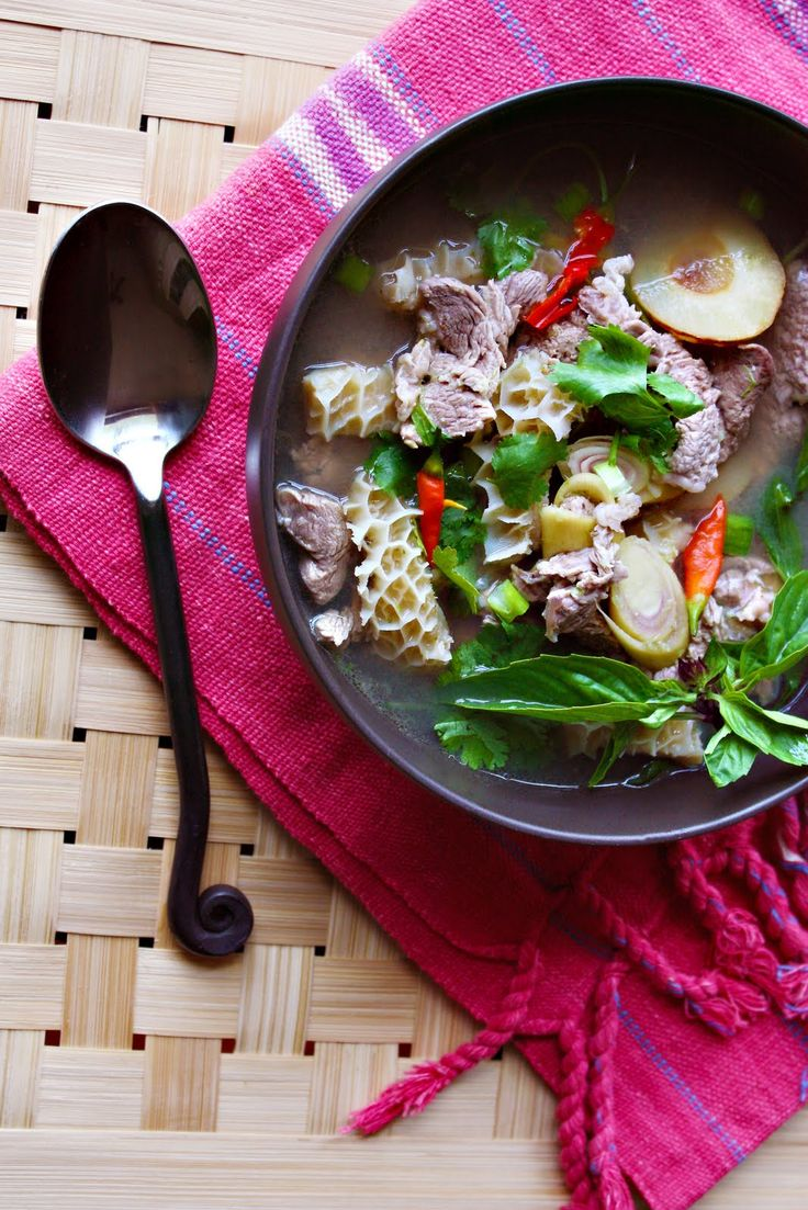1000 ideas about beef tripe on pinterest tripe recipes for Ano thai lao cuisine
