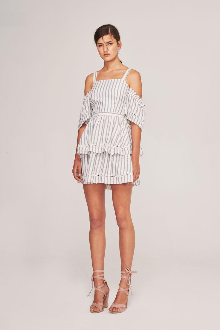 Steele - Estate Dress - Stripe