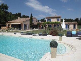 Mooi Provençaals landgoed met balneozwembad en (samen gehuurde) gastenvillaVakantieverhuur in Grambois van @homeaway! #vacation #rental #travel #homeaway