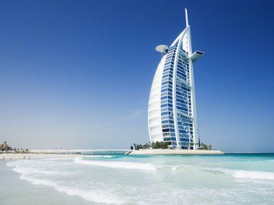 Burj al Arab, Dubai, United Arab Emirates, 321 meters