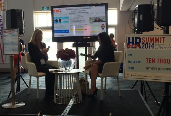 5 minutes with Andrea Riveros, HR Manager Louis Vuitton ANZ #HRSummit_au - to see more upcoming HR events, visit http://www.hcamag.com/hr-events/  Photo source: @ManpowerGroupAU