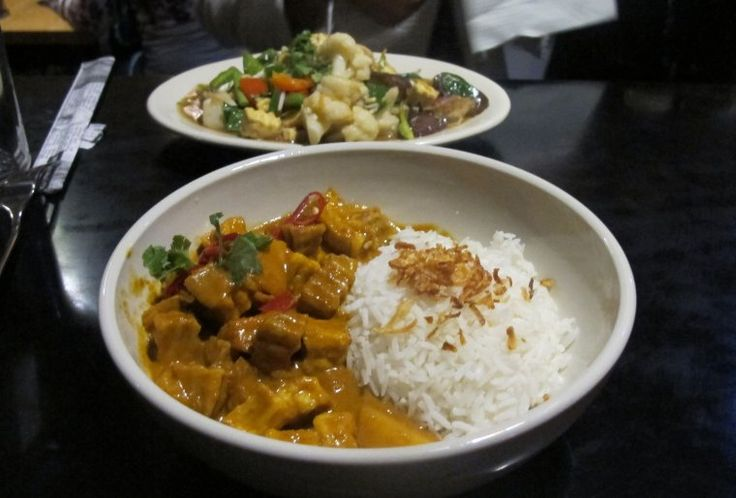 Lily's in the Langstrasse: great curries (especially thai) and Asian food!