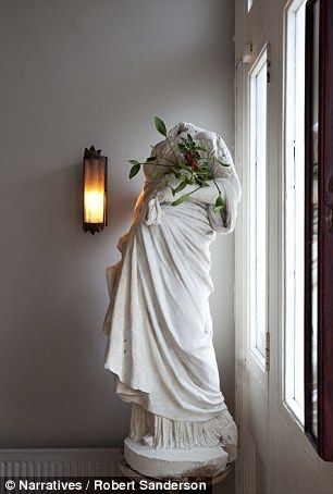 Josephine loves all her antique finds, no matter how weathered. 'She's lost her headalong ...