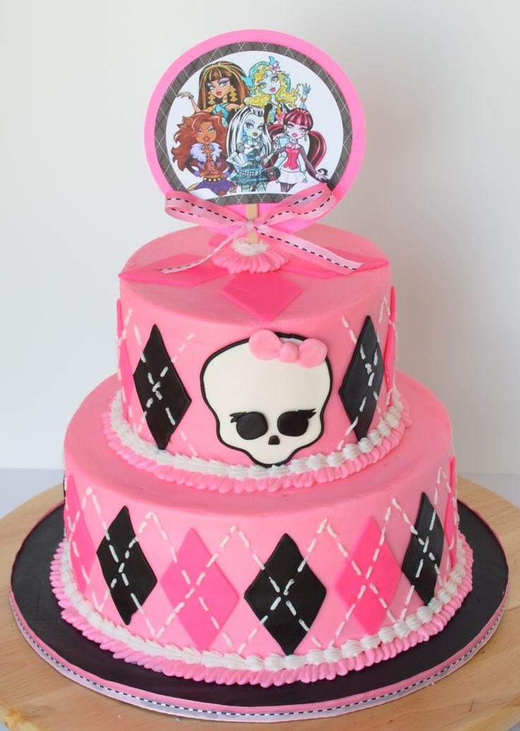 7 Best Birthday Cake Designs Images On Pinterest Monster High