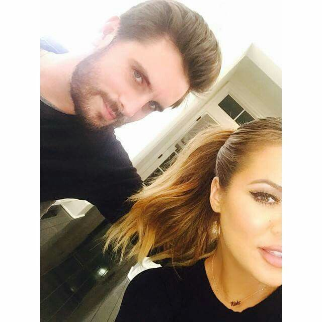 Khloe kardashian and Scott Disck  The Lord and The Lady