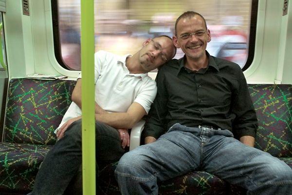 40 años retratando a viajeros del metro de Londres.