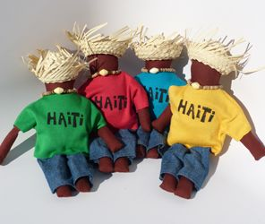 Haitian Blessing Dolls.  So cute!  Made in Haiti at the Apparent Project