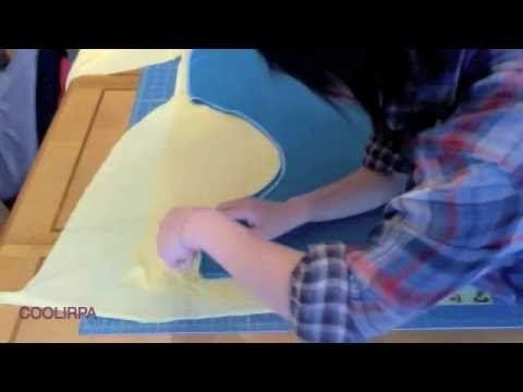 Cowl neck halter top tutorial