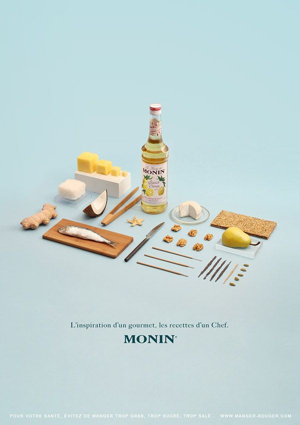 Les Sirops de Monin (Degree project) on Behance