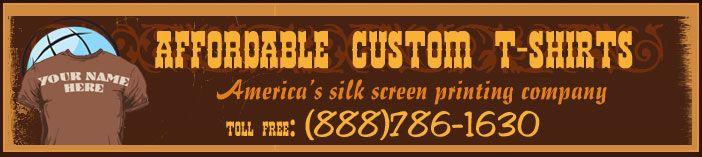Custom Screen Printing  - great pricing