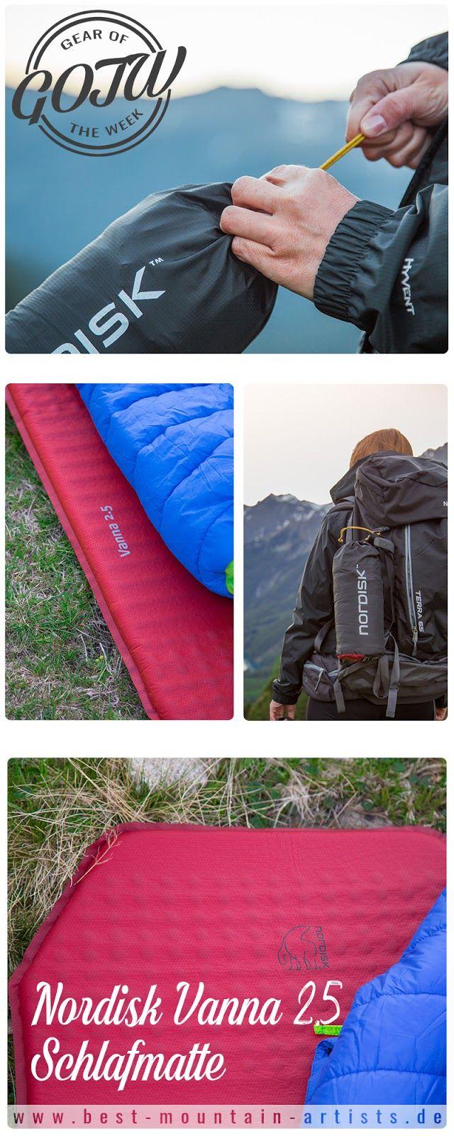 Gear of the Week #GOTW KW 25 | Nordisk Vanna 2.5 Schlafmatte | ultraleicht Matte für Trekkingtouren | Outdoor Gadgets zum Wandern | Leichte Isomatte
