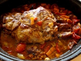 Gigot de sept heures (7 hour Lamb recipe)