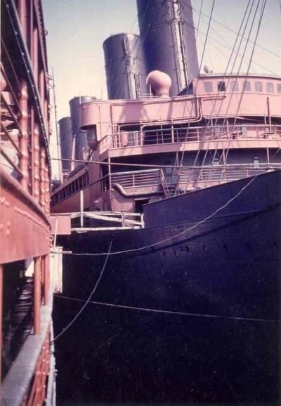 The Agamemnon, former liner Kaiser Wilhelm II