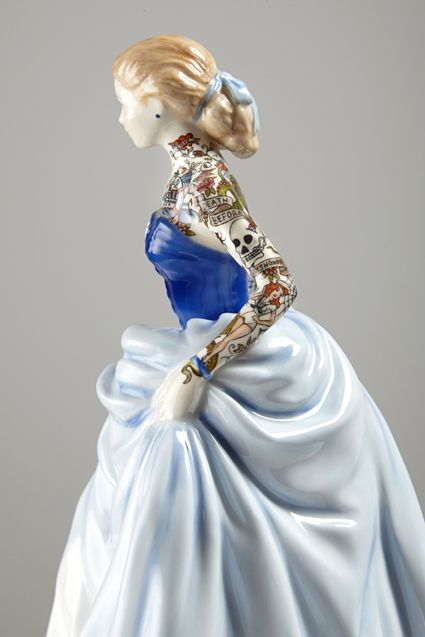 Jessica Harrison's Latest Series of Altered Ceramic Figures | Hi-Fructose Magazine