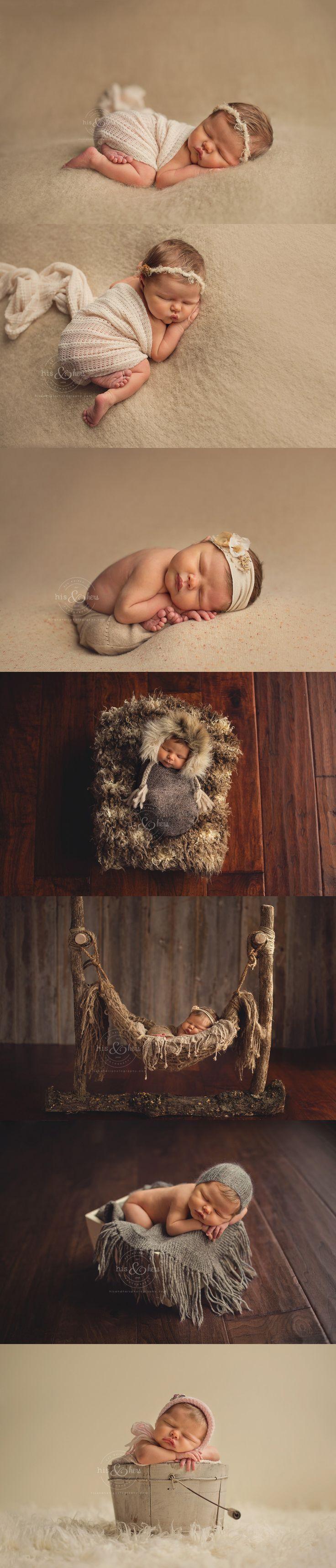 Des Moines, Iowa newborn photographer, Darcy Milder | His & Hers | 3 day old Kassidy