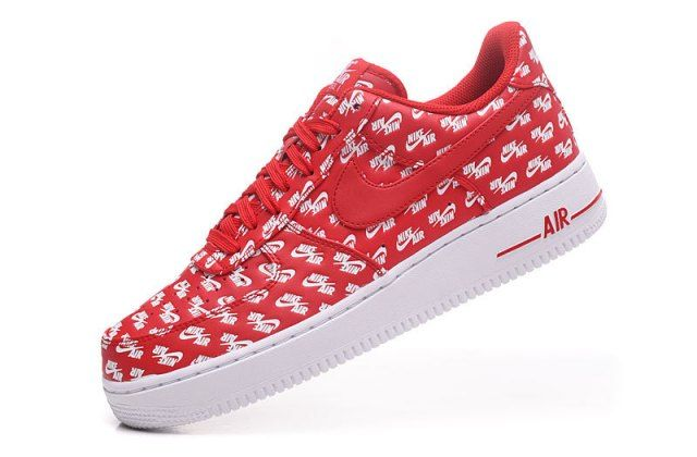 Dazzling Nike Air Force 1 Low 07 QS All Over Logo University