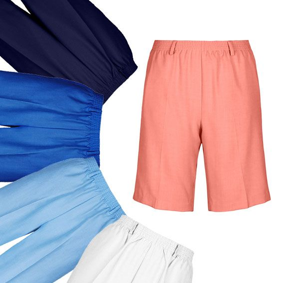 Essential Shorts are a wardrobe staple! With elasticated waistbands and front pockets, they're a handy everyday pair of shorts.