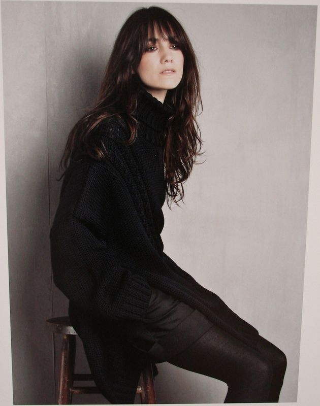 Charlotte GainsbourgFashion, Long Bangs, All Black, Long Hair, Charlottegainsbourg, Style Icons, Patricks Demarchelier, Patrick Demarchelier, Charlotte Gainsbourg