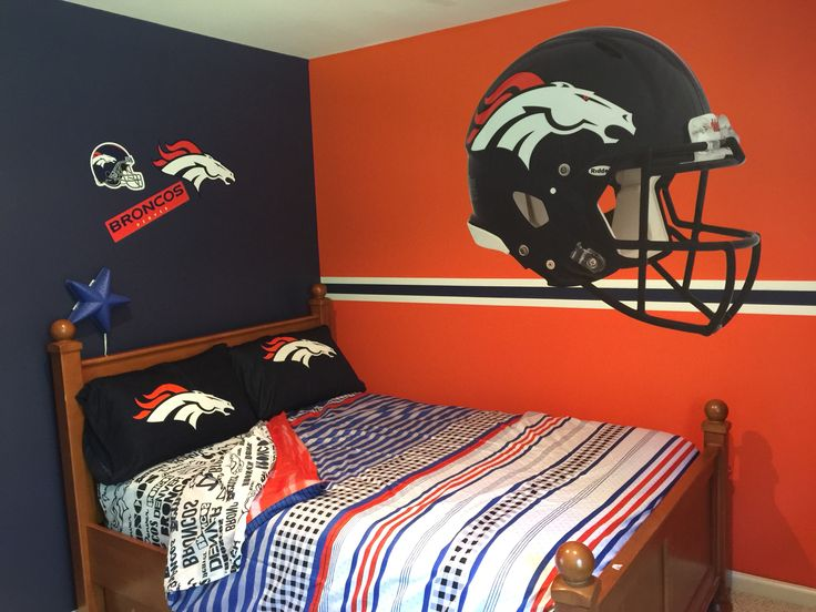 Chad S Denver Broncos Bedroom Home Sweet Home Ideas