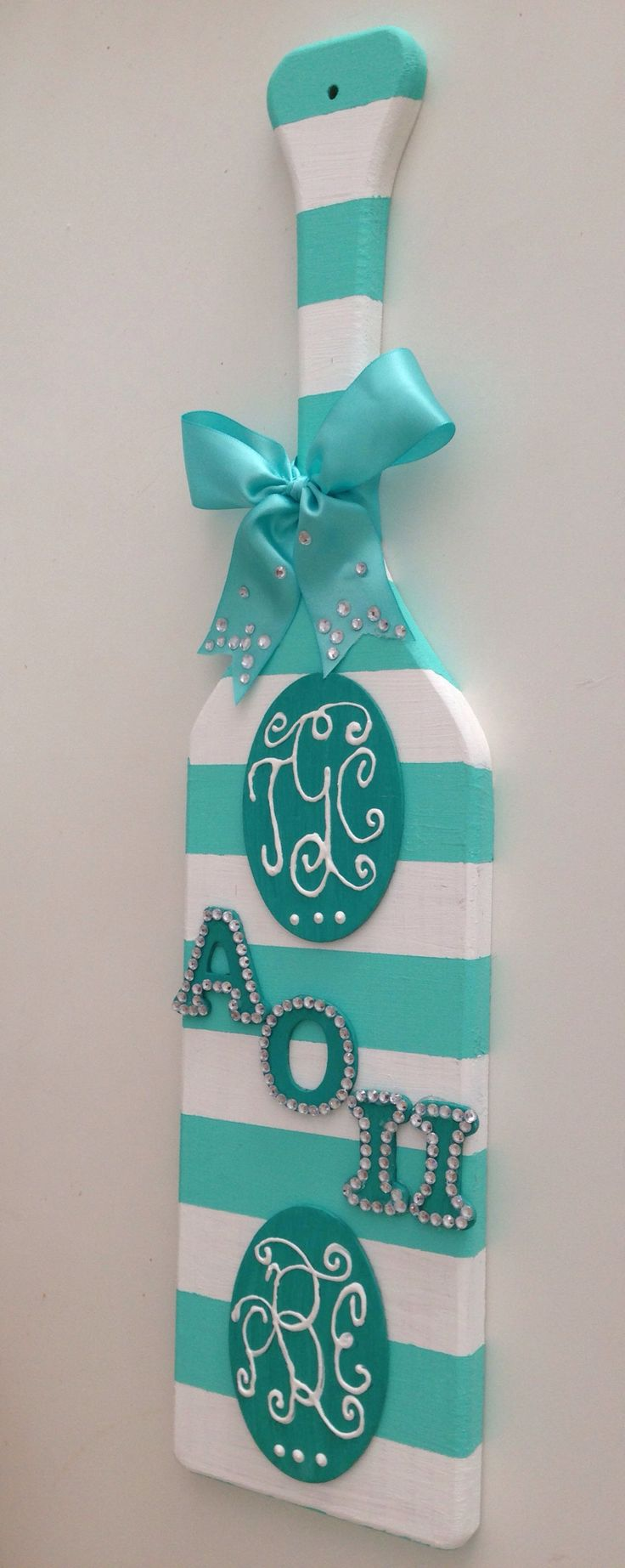 AOII Paddle - this would be cute in pink!
