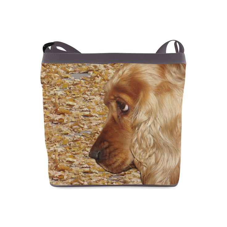 Dog Cocker Spaniel Crossbody Bags (Model 1613)