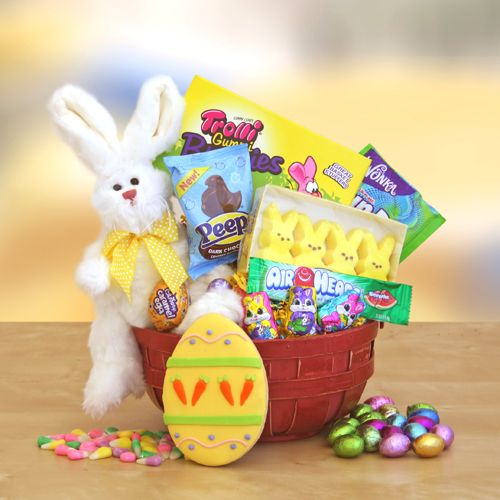 396 best easter gifts ideas images on pinterest easter gift colorful easter basket negle Image collections