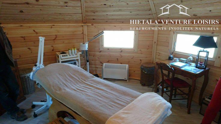 kota finlandais avec extension pour salle de massage  http://www.hietala-aventure-loisirs.com/