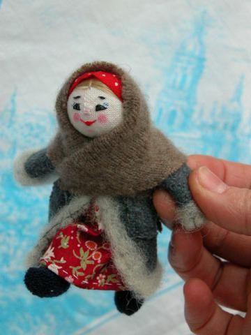 """Выставка """"О чем расскажут славянские куклы"""". Стенд № 2. Светлана Ноакес, Великобритания, Йорк"""