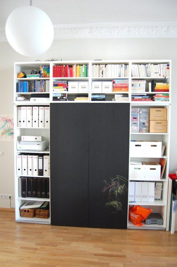 Ikea Mobel Umbauen Ikea Hacks Aus Der Community Regal Mit Schiebeturen Bucherregal Schiebeturen Ikea