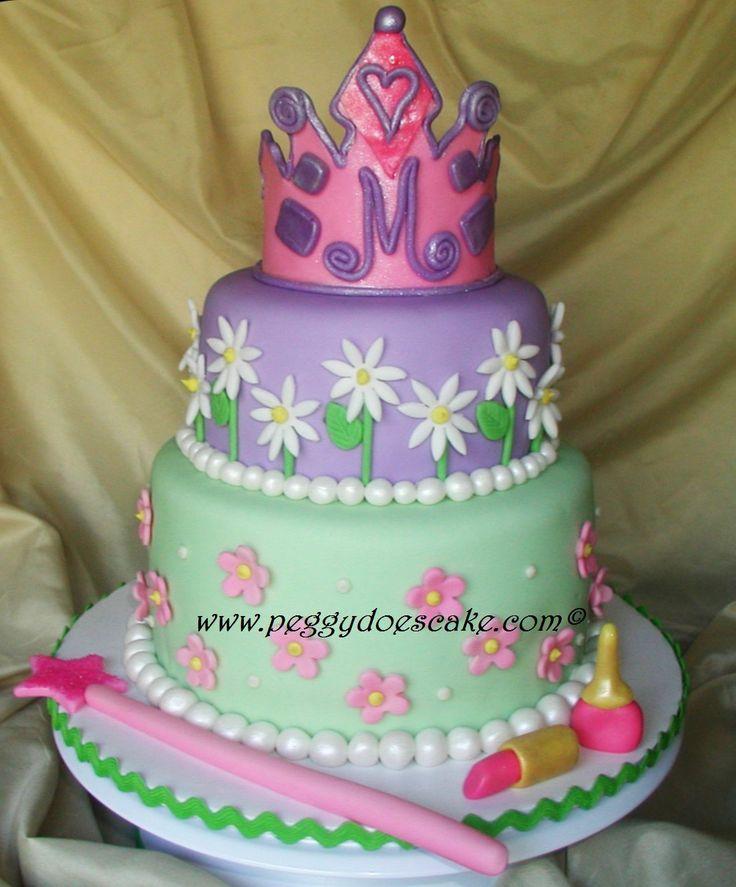 cakes: Cakes Cupcake Ideas, Cakes Ideas, 1St Birthday, Parties Ideas, Princesses Cakes, Girls Cakes, Princess Cakes, Girls Birthday Cakes, Birthday Ideas