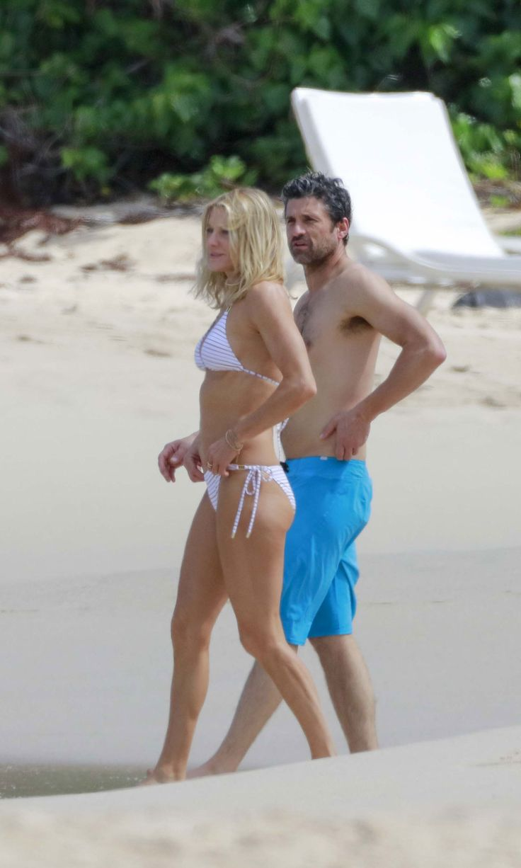 Patrick Dempsey and His Wife Prove They're Definitely Back On With a Romantic Beach Getaway