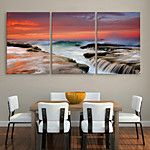 Canvas Set Classic Realism,Three Panels Horizontal Print Wall Decor For Home Decoration 2017 - $75.05