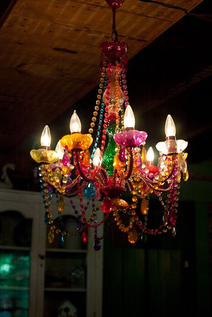 Chandelier At The Farmhouse Cafe At The Flower And Herb Barn In Nashville Indiana Eat There