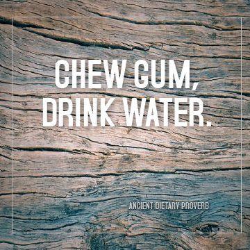 My zen-inspired diet motto :)