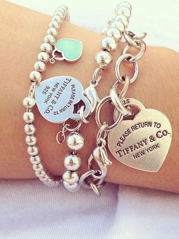 25 best ideas about tiffany bracelets on pinterest for New top jewelry nyc prices