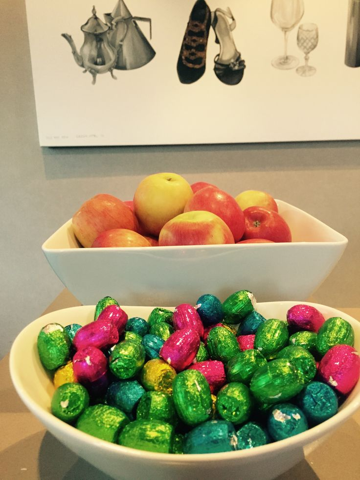 Easter eggs for our guests to enjoy over Easter Weekend!  http://www.thecrownnapier.co.nz