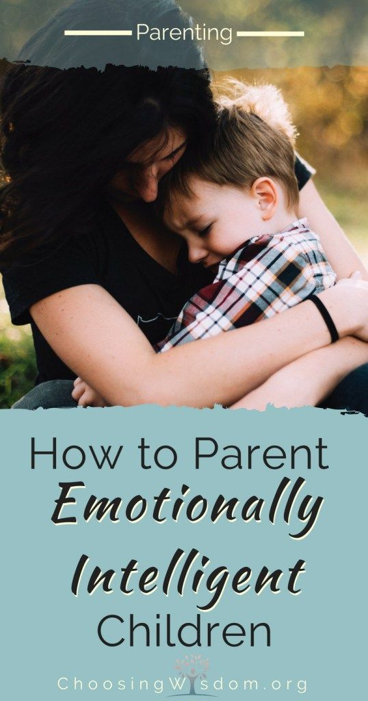 How to Parent Emotionally Intelligent Children - Choosing Wisdom We've all got our stories. Those moments where we wonder how do I help my child process these emotions? Or maybe we wonder how do we get past this growing pain. How do we parent emotionally intelligent kids?