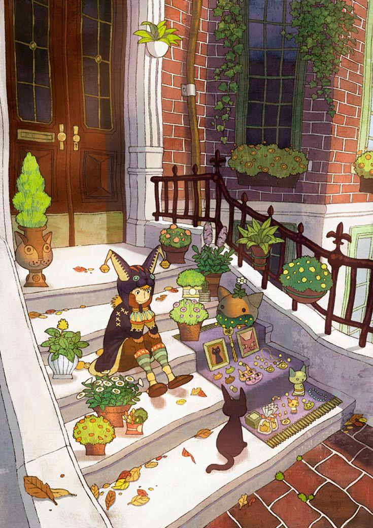 Sayaka Ouhito   Manga   Pinterest   Art, Illustration art and Illustration