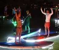 Paddle Board at night (Fort Lauderdale, Florida)