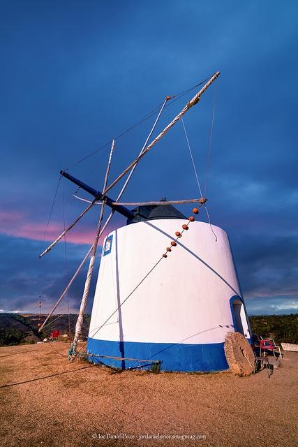 Windmill, Odeceixe, Algarve. Portugal by Fragga via Flickr