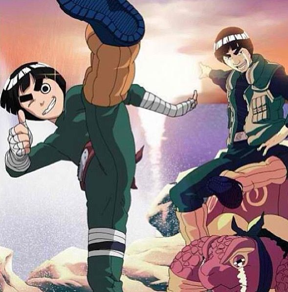 57 Best Rock Lee Images On Pinterest