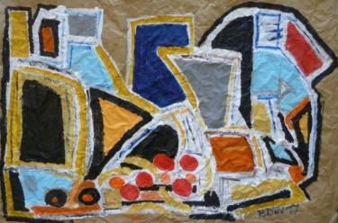 "Saatchi Art Artist Celine BRON; Painting, ""Insnatm"" #art"