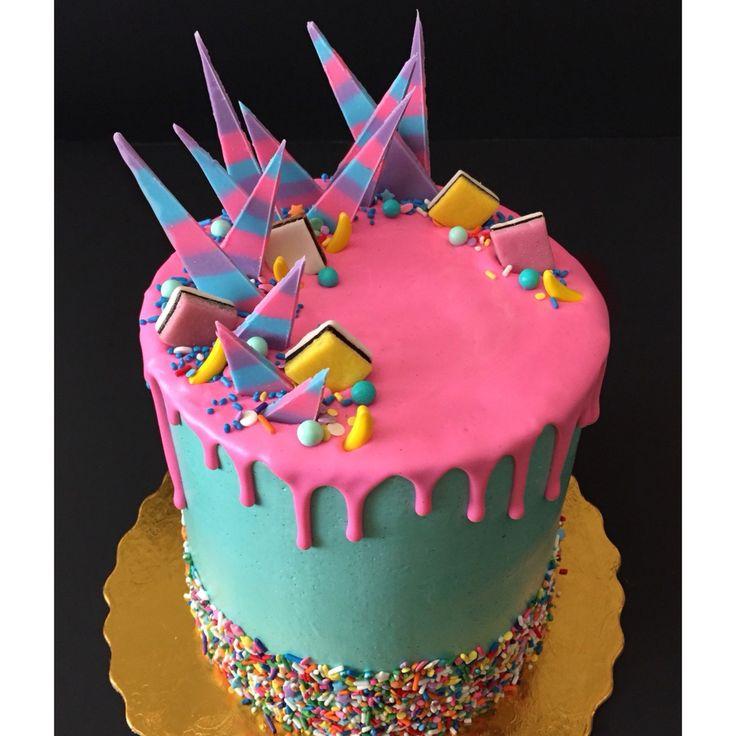 Katherine Sabbath-inspired birthday cake by NoeyCakes